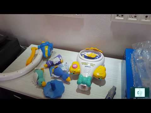 Baby music carousel, Vtech, Unboxing...
