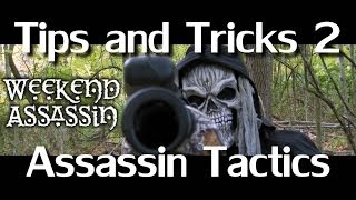 Paintball Sniper Assassin Ninja Tips & Tricks 2 Woodsball Tactics Angles Teamwork FUN!(Time for another Tips and Tricks video! This one features team tactics at a large woodsball game at Trails of Doom. Our team got SMASHED at the beginning of ..., 2014-02-01T14:11:18.000Z)