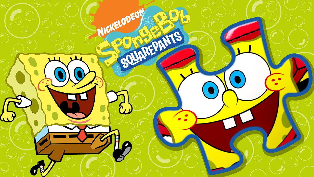 SpongeBob Squarepants Eva Puzzle Unboxing | Sponge Racer ...