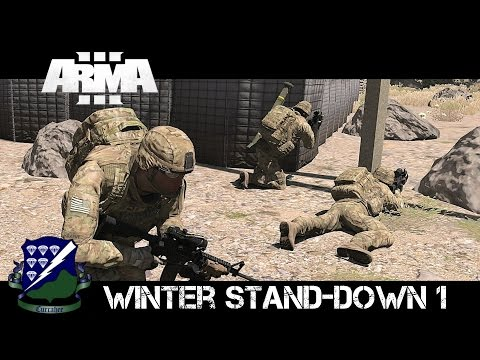 506th Winter Stand-Down Mission 1 - ArmA 3 MCC/Zeus Gameplay