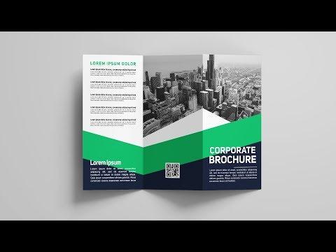 A4 Tri Fold Brochure Design - Photoshop Tutorial thumbnail