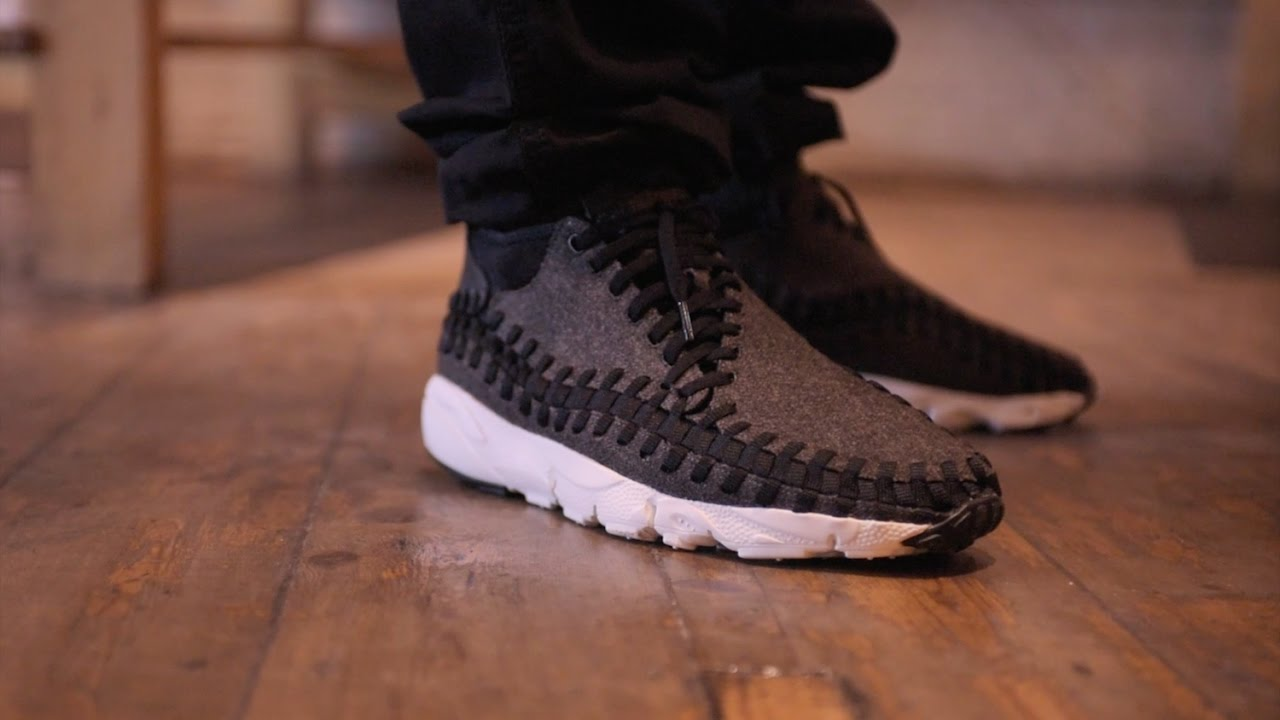 premium selection e0a6c 6eace NIKE AIR FOOTSCAPE WOVEN CHUKKA SE - AVAILABLE NOW