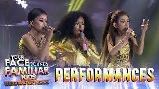 Your Face Sounds Familiar Kids 2018: TNT Boys as Jessie J., Ariana Grande, & Nicki Minaj | Bang Bang