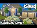 Die Sims 4 Haus bauen | American Family #1: Grundriss (deutsch)