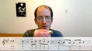 Cómo tocar la armónica de Mírenla de Ciro y los Persas