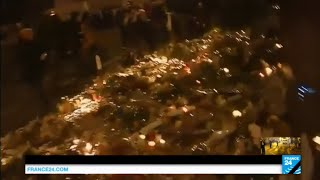 Paris Attacks: panic movement near Le Carillon restaurant after false alarm