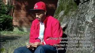 "TREY STAX ""Gon Tell EM"" Letter Group Records & Animal House"