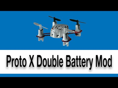 How to Hack a Quadcopter Fly with 2 Batteries! (Double Flight Time)