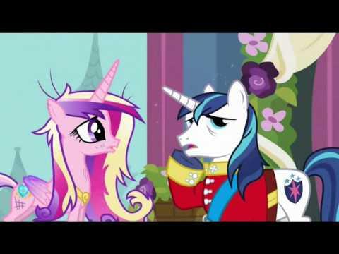 Мой маленький пони свадьба принцессы каденс 2 часть и 2 часть