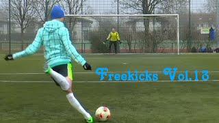 Best Free Kick Montage │ Vol.13 │ 2015