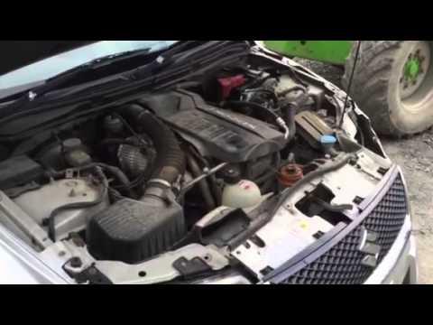 Suzuki Grand Vitara Starter Removal