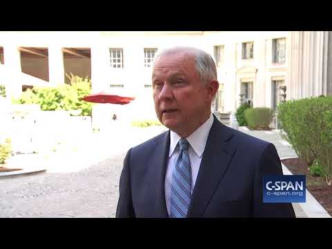 Word for Word: Attorney General Sessions Sends Judges, Attorneys to Border(C-SPAN)