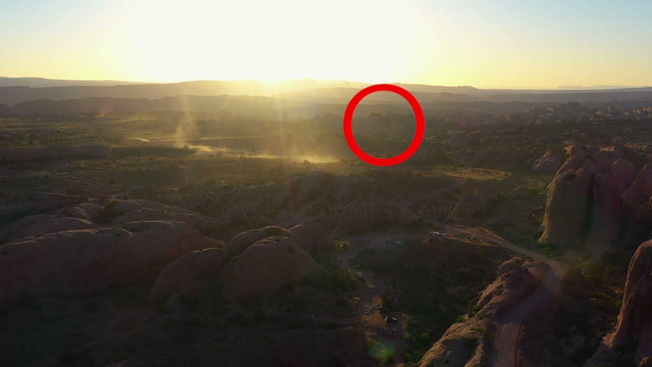 """Un photographe affirme avoir filmé la présence d'un """"OVNI"""" : """"une chose inexplicable""""."""
