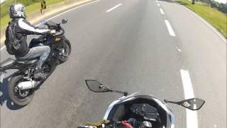 Ninja 300 e Ninja 250r - Na Estrada!