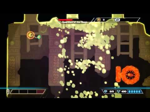 pixeljunk shooter ultimate Final Boss  