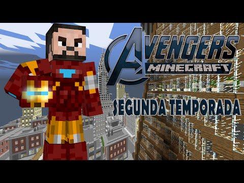 Minecraft Avengers 2 Ep 1 # O Retorno dos Heróis !!!