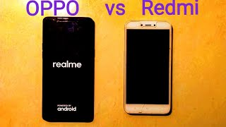 Realme 1 vs Redmi 5A speed test comparison