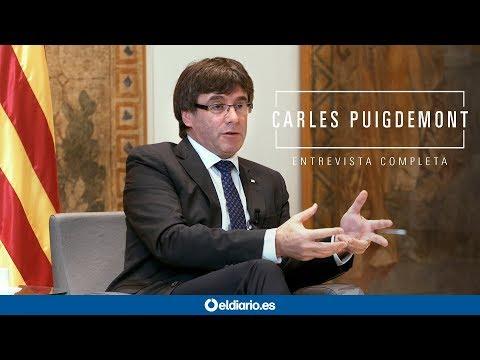 Entrevista completa a Carles Puigdemont