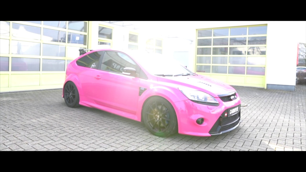 cardip spruehfolie prank barbie ford focus rs pink