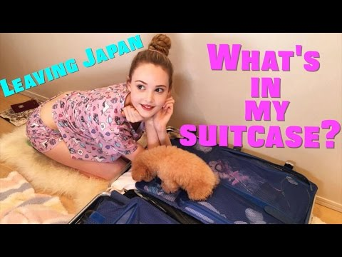 Leaving Japan / What's in my Suitcase?