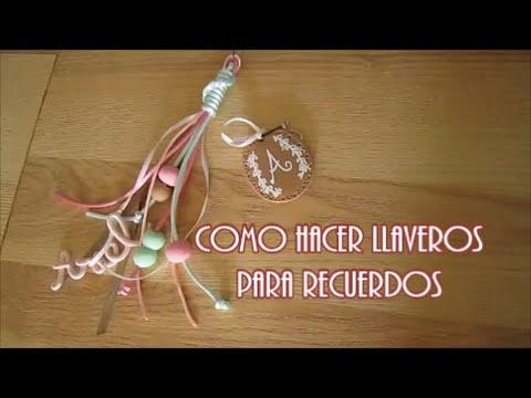 COMO HACER LLAVEROS | BABY SHOWER | DIY |