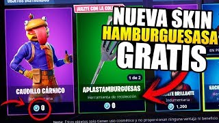 HOW TO GET NEW SKIN HAMBURGURSA FREE!! PS4, XBOX & PC *NEW TIP* Fortnite Battle Royale