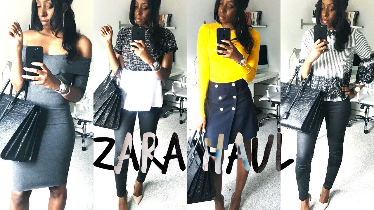 [VIDEO] - ZARA HAUL & LOOKBOOK!! PT. 2 | SUMMER TO AUTUMN OFFICE OUTFITS & A CHANEL DUPE 6