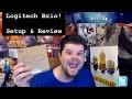Logitech Brio Setup & Review Compared to the Logitech c920