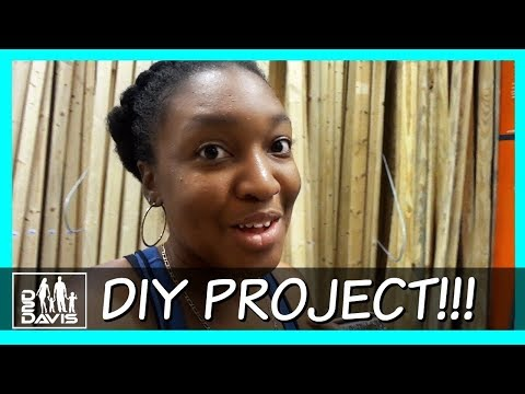 DIY PROJECT PREPARATIONS | BLACK FAMILY VLOGS