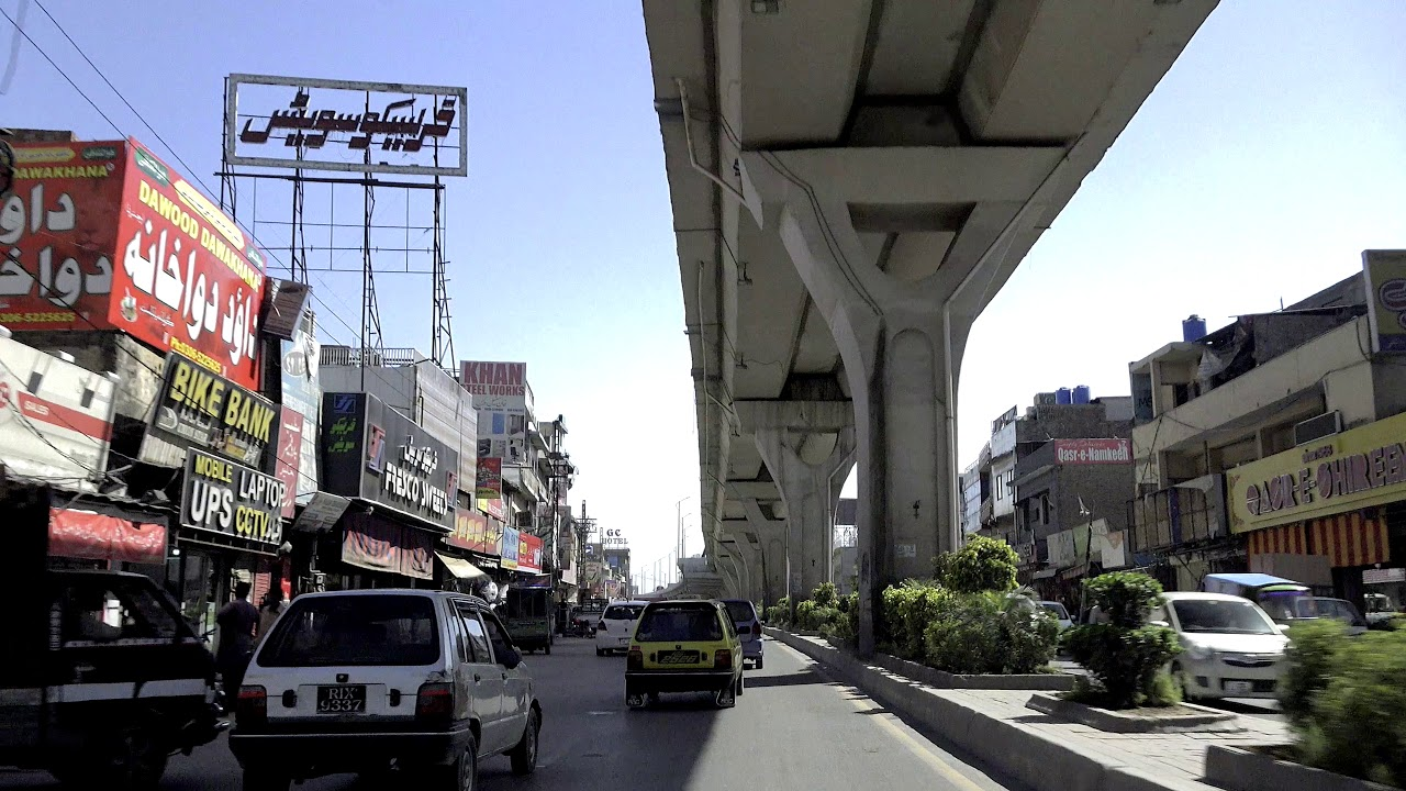 Rawalpindi City 2018 | Punjab, Pakistan ?? Virtual Tour