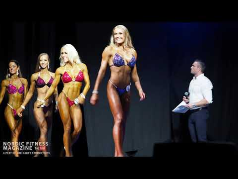 Incredible Bikini Fitness Class - Great Class At PRO Qualifier And The Winner Is Amazing!