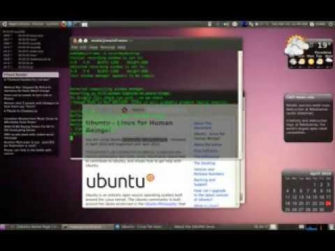 Ubuntu promo xvid