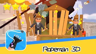 Ropeman 3D Walkthrough Get hooked to being the hero Recommend index three stars