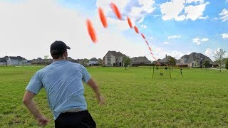 Frisbee Target Trick Shots | Brodie Smith