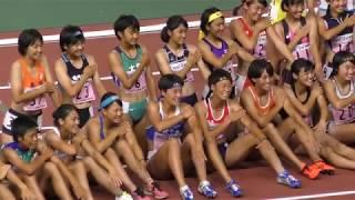 H30 三重インターハイ 女子七種競技800m 5組