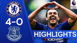 Chelsea 4-0 Everton | Superb Chelsea Spoil Ancelotti's Return! | Premier League Highlights