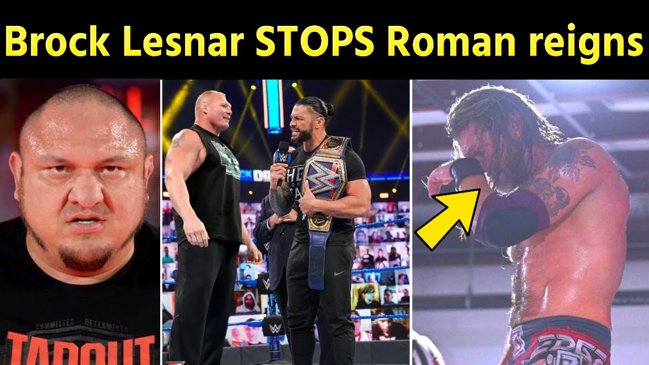 Brock Lesnar STOPS Roman reigns After WrestleMania 37 - Why Edge Crying | 10 WWE Superstars Fired