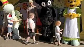 Kolmården bamses värld och djurparken 2018 familjedag
