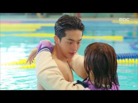[Weightlifting Fairy Kim Bok Ju] 역도요정 김복주 ep.01 Lee Sung-kyung fell into the pool 20161116