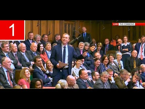 Tim Farron FIRST Speech at House of Commons after General Election