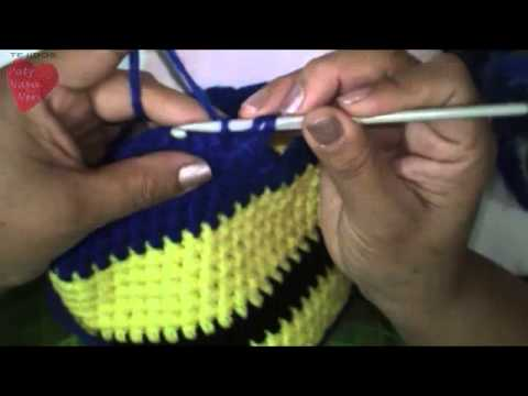 Gorrito de Minion a Crochet  6f19b126eca