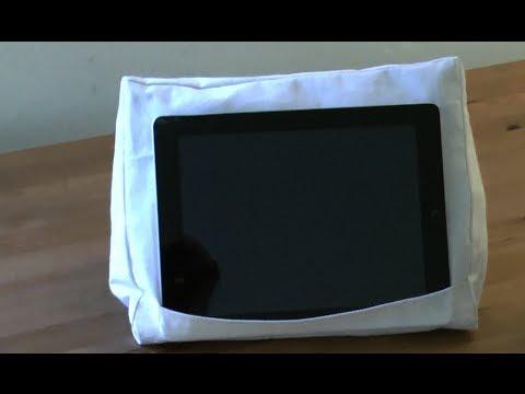 ipad pillow ipad kissen youtube. Black Bedroom Furniture Sets. Home Design Ideas