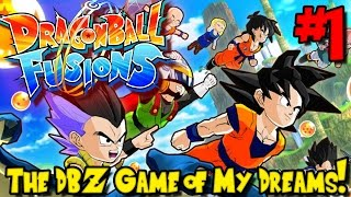 THE DBZ GAME OF MY DREAMS! | Dragon Ball Fusions (Gameplay / Playthrough) - Episode 1