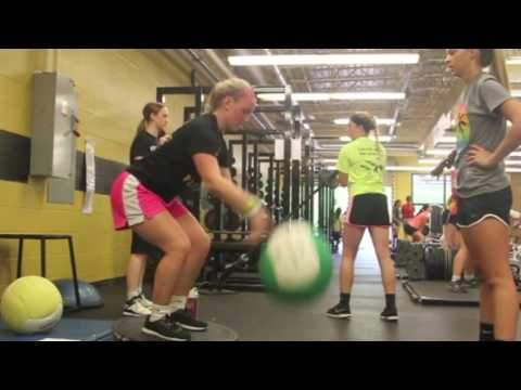 Corydon Central High School's relocated weight room