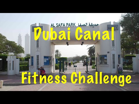 VLOG Дубай / Dubai Canal / Fitness Challenge Safa Park/ Жизнь в Дубае