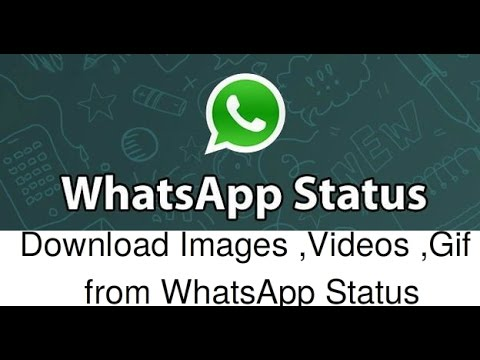 How To Download Whatsapp Status Videos Photos Gif In Android