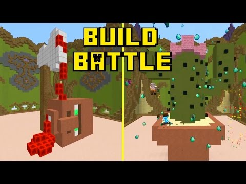 [EL] PIOVONO DIAMANTI: E' LEGGENDARIO! | Build Battle (Mini-Game MineCraft)