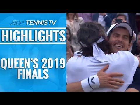 Murray And Lopez WIN Doubles; Lopez Wins Singles | Queen's 2019 Final Highlights