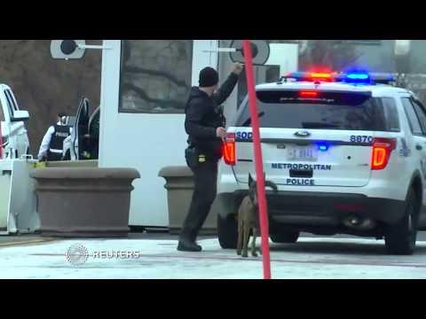 Vehicle strikes security barrier near White House: Secret Service