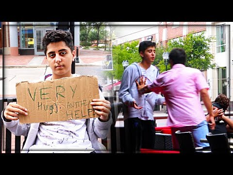 Bullying a Homeless Child Social Experiment (MUST WATCH)